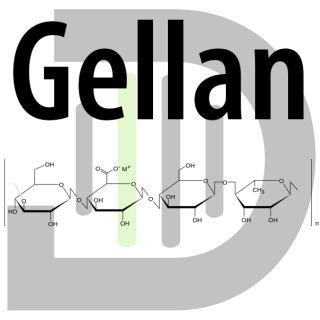 Gellan-Pulver