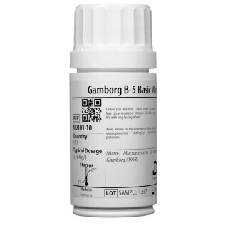 Gamborg B-5 Basic Medium