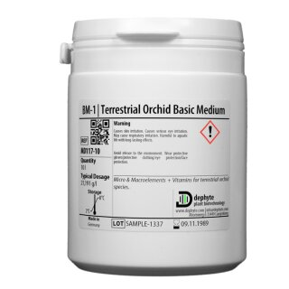 BM-1 | Terrestrische Orchideen-Medium inkl. Sucrose