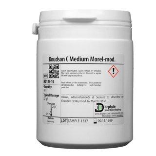Knudson C Basic Salts Morel-mod. incl. Sucrose