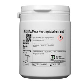 IITA Musa/Banana Rooting Medium mod.